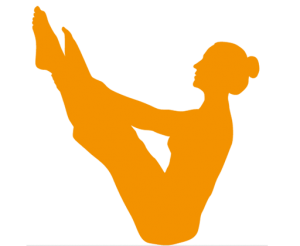 Pilates-Übung Teaser